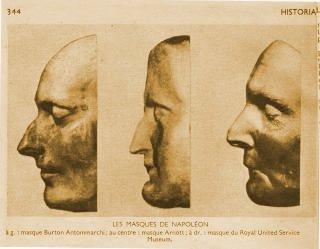 Souvent L'AUTRE SAINTE-HÉLÈNE - Le masque mortuaire Arnott WR47