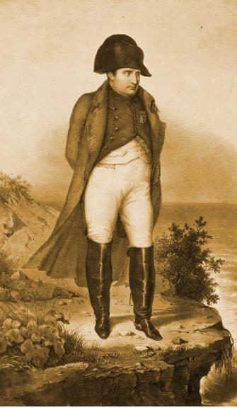 Napoléon prisonnier à Ste Hélène